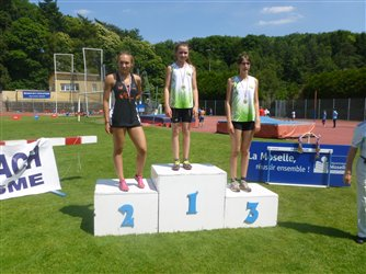 Championnats de Moselle benjamins/minimes à Forbach + section running